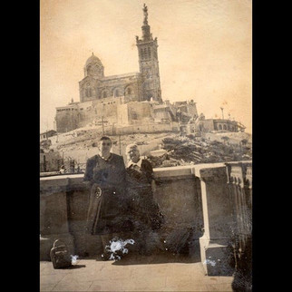 1950s Road trip to Europe - Notre Dame de la Garde