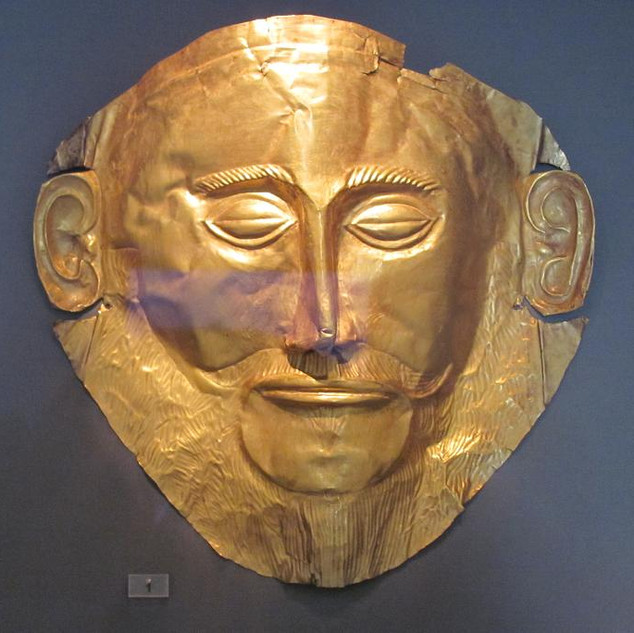 Agamemnon Maskesi / Atina Arkeoloji Müzesi