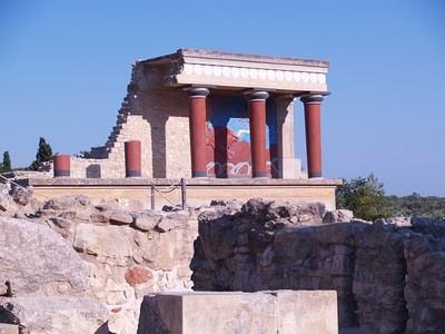 – Knossos Sarayı , Girit –