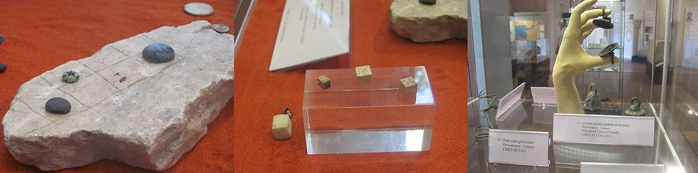 Cimiez Museum, Dice, Game, FingerBell -2mi3-