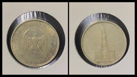 5 Reichsmark - 1934