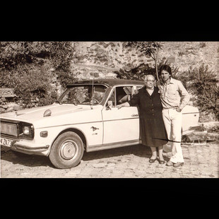 1978, Ashen and Grigoris with 1972 Anadol