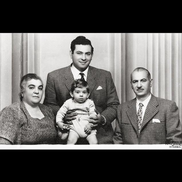 1950s Vafiadis Family, Foto Saray