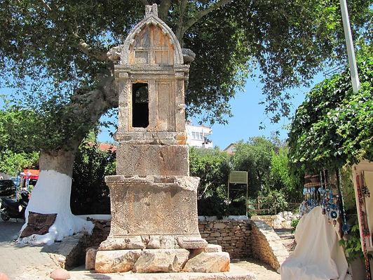 Kaş Antiphellos Kral Lahdi
