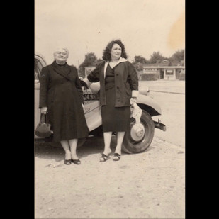 1950s Road Trip to Europe