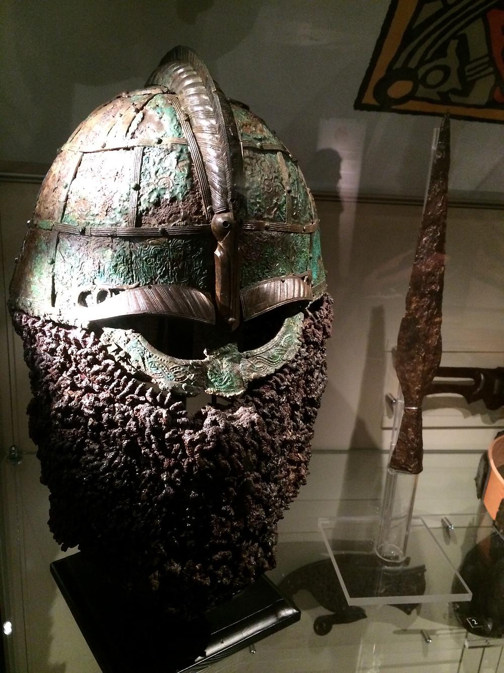 Valsgarde Helmet-Gustavianum, 2mi3