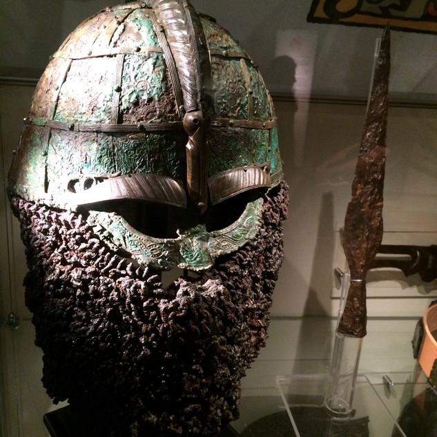 Viking Miğfer / Gustavianum, Uppsala-İsveç