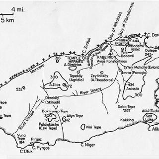 Gökçeada / Imbros Map