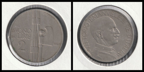 2 Lire - 1923
