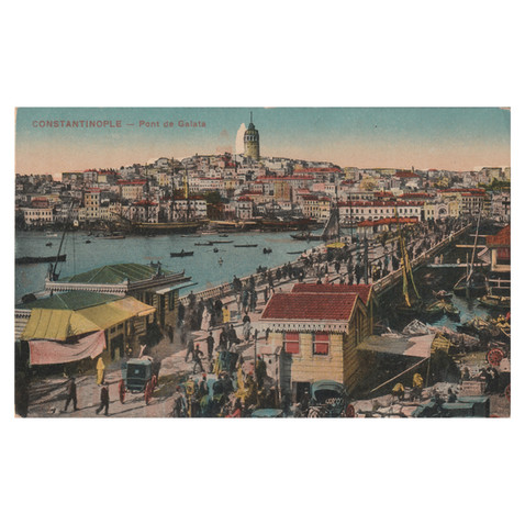 Galata Tower & Bridge, Istanbul