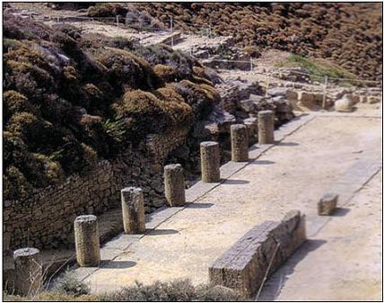 –Lemnos,Kabeiroi'ye adanan tapınak –