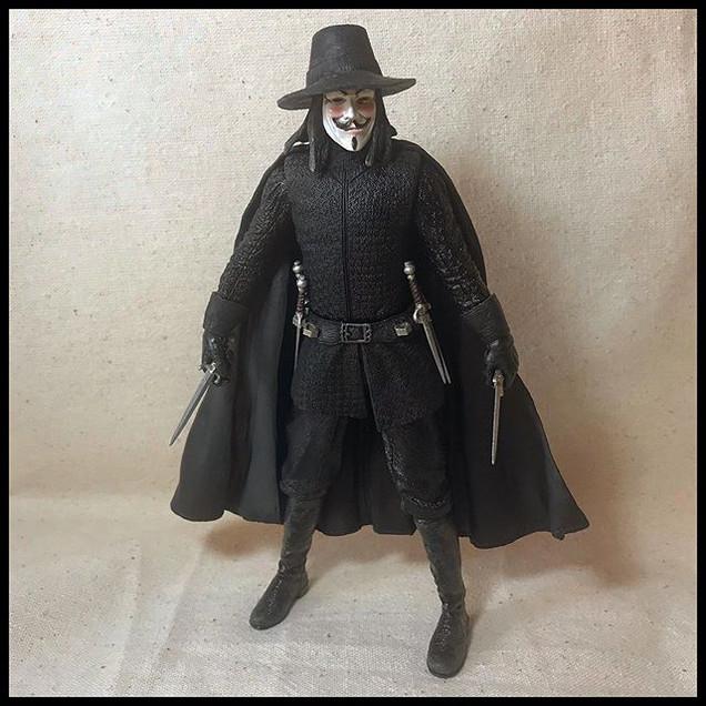 V for Vendetta - V