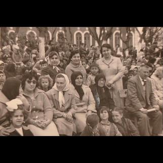 Sanzoni Family, From Palermo to Karaagac / 1950s Luisa Sanzoni with his son