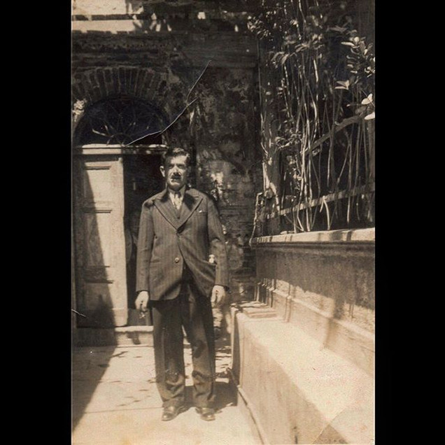 1930s In front of the Church of Agia Paraskevi