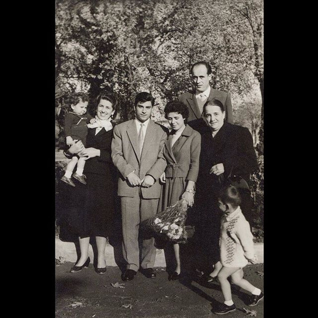 1950s The Sanzoni Family