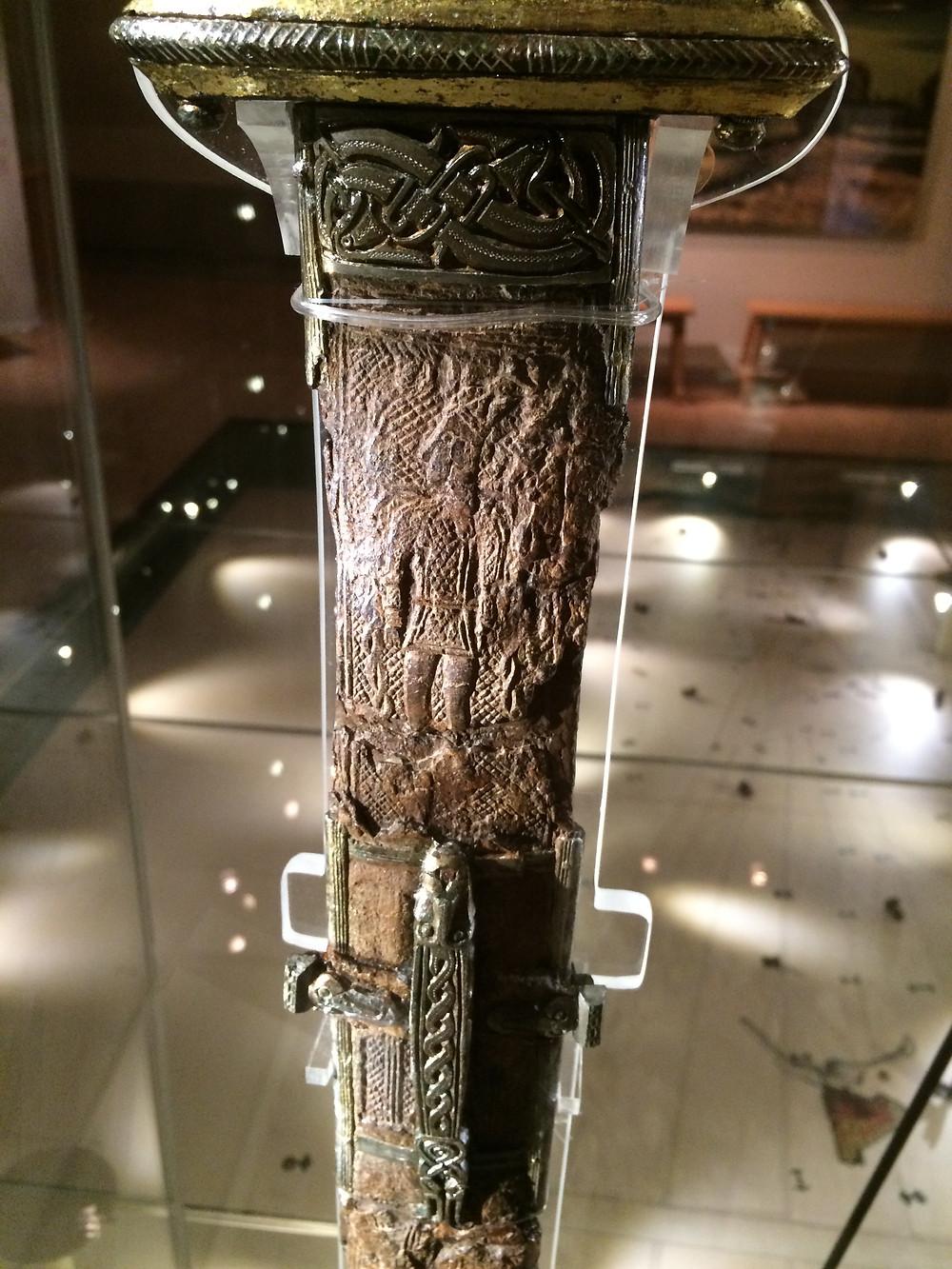 Details of Valsgarde Sword - Gustavianum, 2mi3