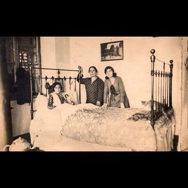 1920s Sofia on sickbed
