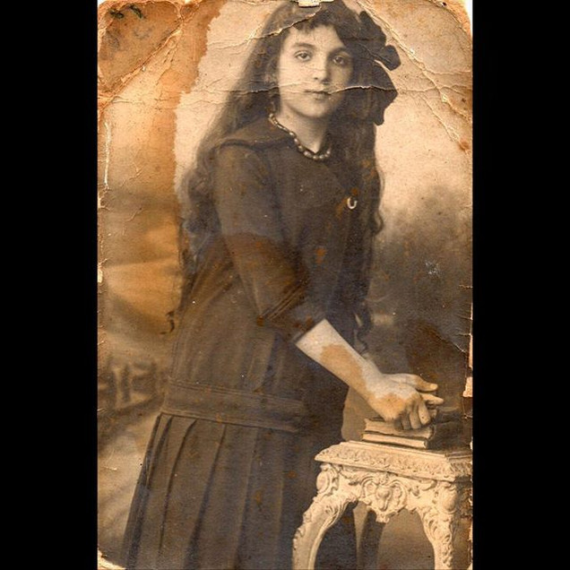 1910s Ashen M. 10 years old