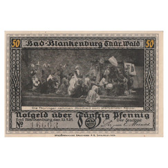 Bad Blankenburg, 50 Pfennig, 1922