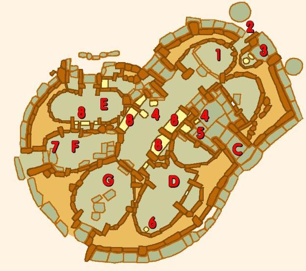 Hagar Qim Map