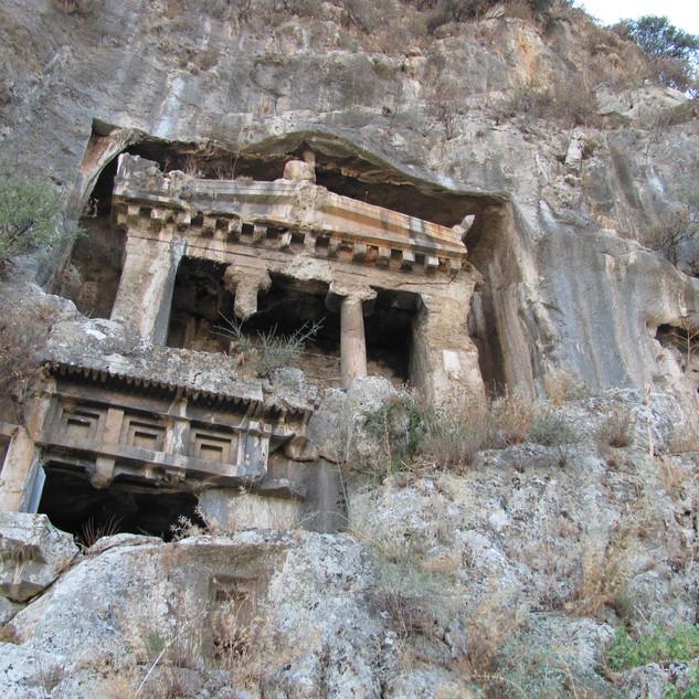 Fethiye / Amyntas'ın Mezarı
