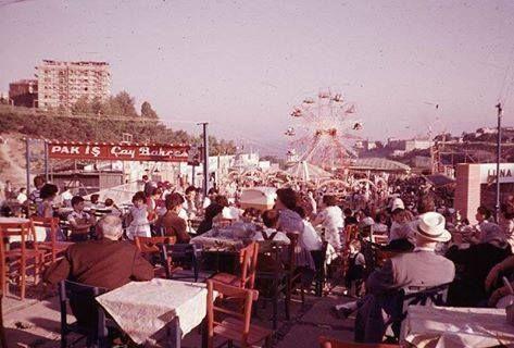 1960s Küçükçiftlik Lunapark in Besiktas, Istanbul