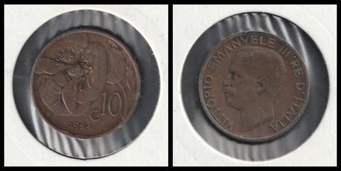 10 Centesimi - 1924