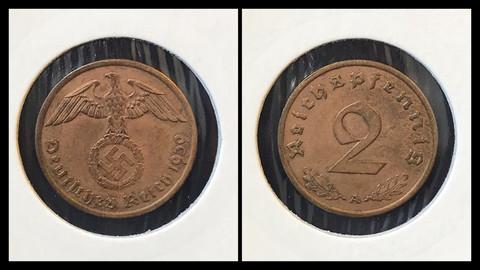 2 Reichspfennig - 1939
