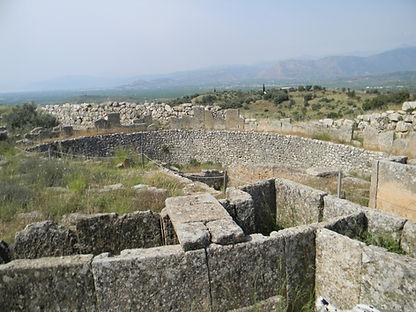 Grave Circle B Mycenae