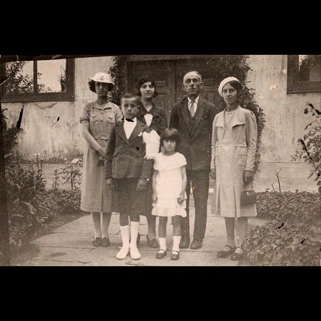 1930s Sanzoni Family Portrait
