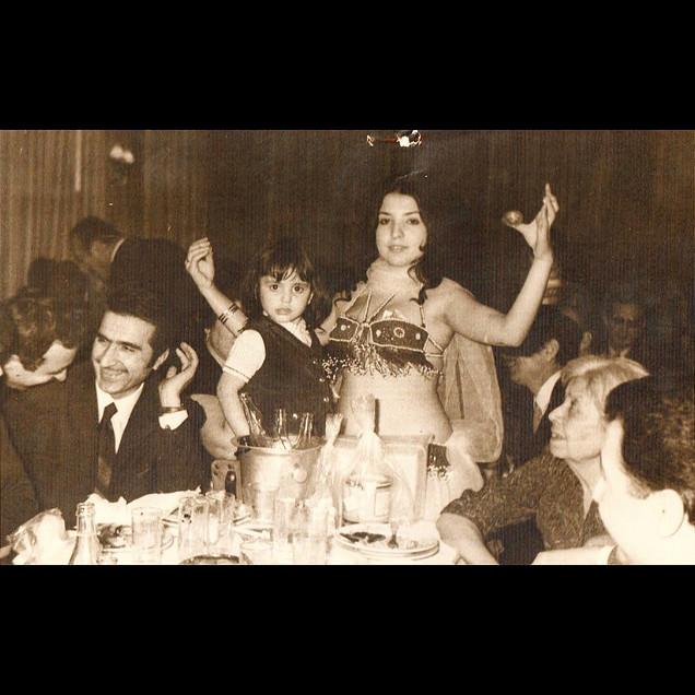 Nightlife & Belly Dancers / 1960s Theodora with Belly Dancer, Canlı Balık Restaurant, Sarıyer