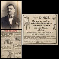 1930s Dinos Chair Atelier Advertisement
