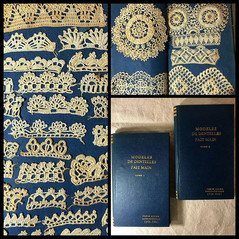 1900s to 1980s 'Lace Pattern Book' created by Ashen