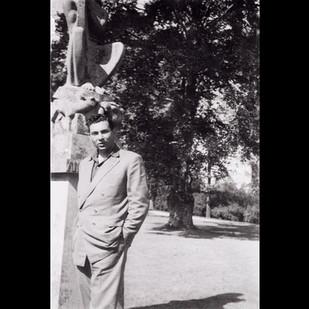1950s Roadtrip to Europe Pt.3 / The Anton Verhey Statue, Rotterdam
