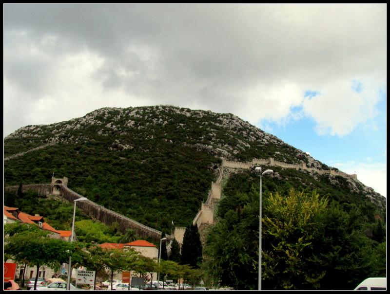Walls of Ston, Dubrovnik, 2mi3