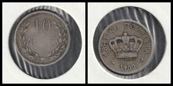 10 Lepta - 1900 ( Crete )