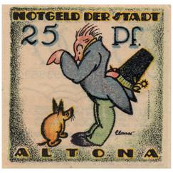 Altona, 25 Pfennig, 1921