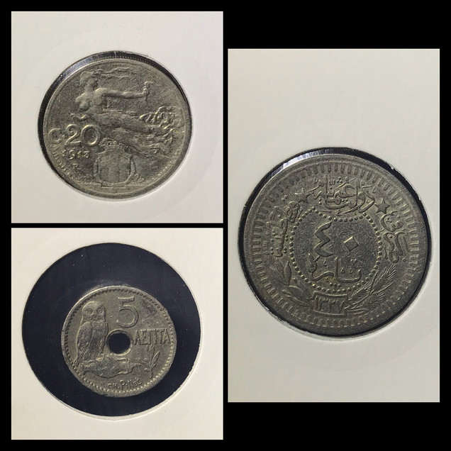 1910-1920s Coin Chronology of Sanzoni Family - b