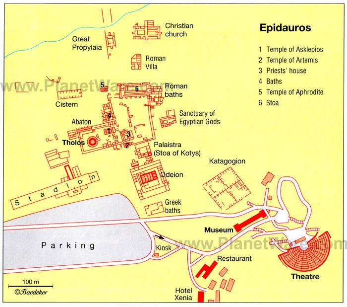 Epidauros Planı