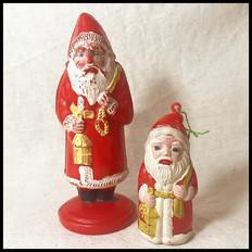 1960s Santa Clause Christmas Decors