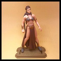 PRINCESS LEIA ORGANA as Jabba's Prisoner