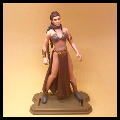 PRINCESS LEIA ORGANA as Jabba's Prisoner