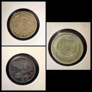1930-1940s Coin Chronology of Vafiadis Family - a