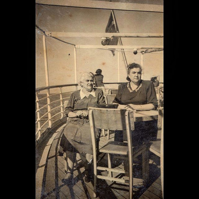 1950s In the Ferry to Prince Islands