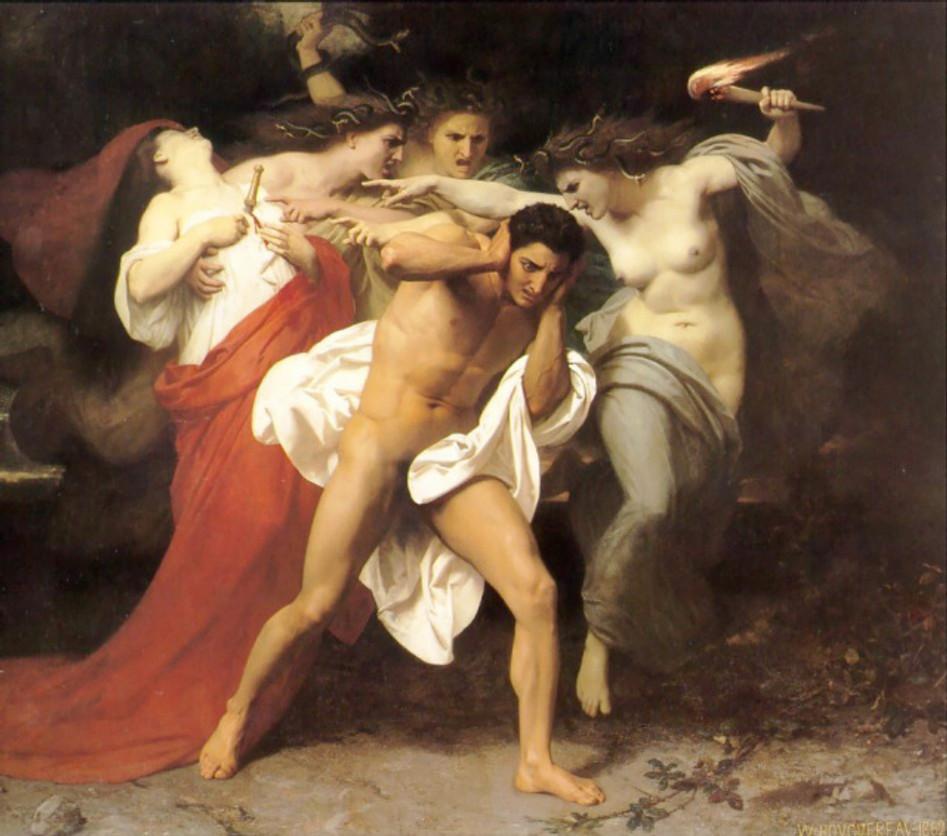 -Orestes ve Erinyler-
