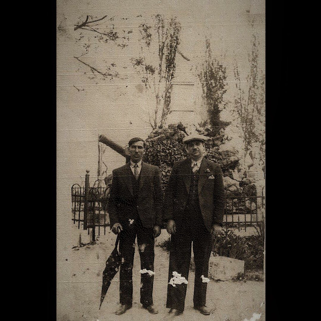 1920s Vafiadis Siblings & The Unknown Monument