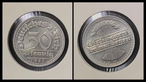 50 Pfennig - 1920