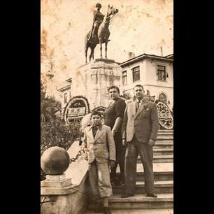 1930s In Bursa, Hükümet Square