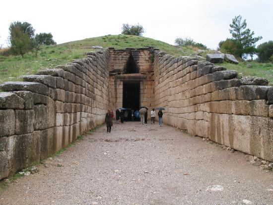 -Agamemnon'un Mezarı (Mykenai)-