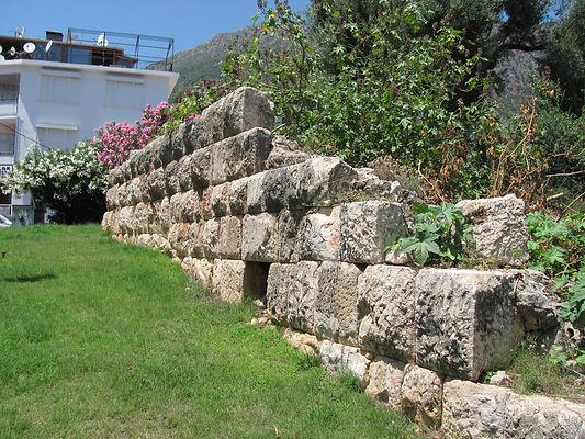 Kaş Antiphellos Hellenistik Mabed